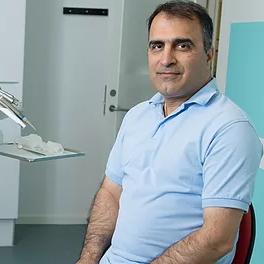 جراح و دندانپزشک دن سباستینسن